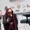 Vendeta Baby rocking Harlem Music Fest