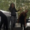 Bria Marie performing at A Great Day in Harlem 2016