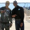 Hopeboy & Don Fryson at Kissimmee Florida Lakefront