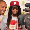 Don Fryson interviewing Lil Jon