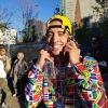 Josh Landy reppin' CMM at NYC Marathon 2018