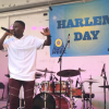 GB Breezy performing during Harlem Day 2017