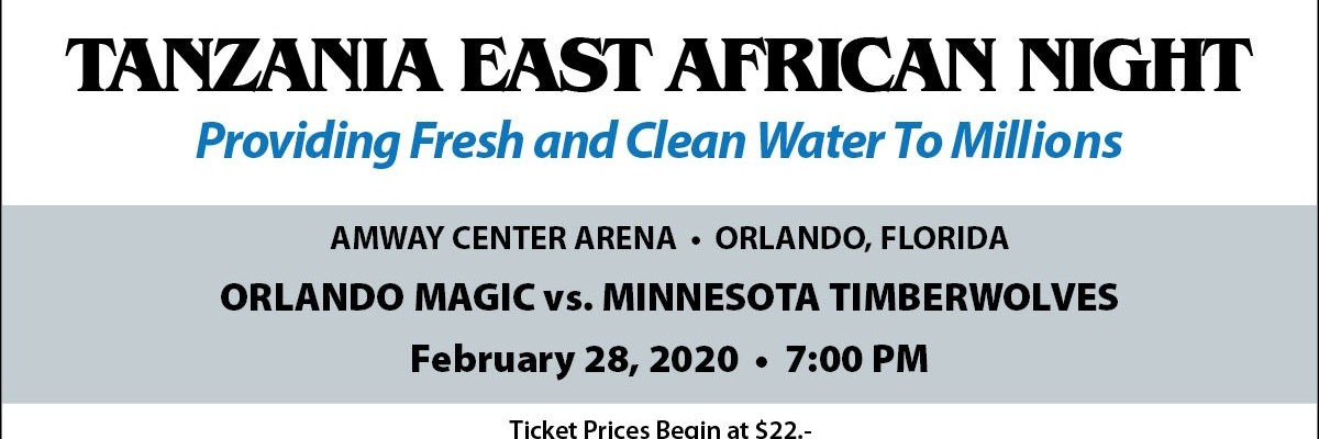 "Orlando Magic host the first annual ""Clean and Fresh Water Project"""