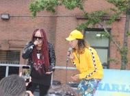 Vendeta Babie feat Josh Landy during Harlemweek 2018 - CLEAN MONEY MUSIC