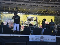 Performing at Taste of Soul in West Palm Beach