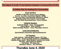 THE IMPACT OF COVID 19 AND SYSTEMATIC INEQUALITY IN COMMUNITIES OF COLOR
