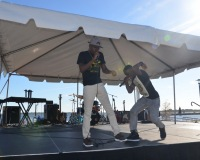 GB Breezy and D Rock at The Dr. Martin Luther King Parade & Unity Celebration