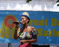 SUZANN CHRISTINE - CLEAN MONEY MUSIC HAD A GREAT DAY IN HARLEM 2019!