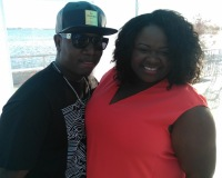 Yung Joc at MLK Unity Festival with Cece Teneal