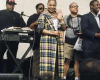 Janet Jackson at Harlem Week 2018