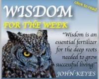 Wisdom for the Week