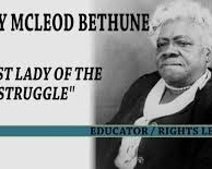 Dr. Mary McLeod Bethune's Words on Confidence in One Another