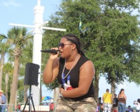 Destiny J at the Kissimmee Lakefront 4th of July 2016
