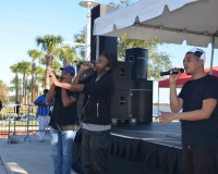 Stefon4u and The 3 Peace Band at the Dr. Martin Luther King Jr. Parade & Unity Celebration