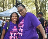 LINDA WALTON & DARRYL T DOWNING - CLEAN MONEY MUSIC HAD A GREAT DAY IN HARLEM 2019!