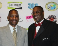 360 EI President Don Fryson and Omar Warren at The Trailblazers Leadership Banquet