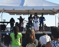 Destiny J & Clique 101 at The Dr. Martin Luther King Parade & Unity Celebration