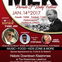 Top performances at MLK Parade and Unity Festival 2017 in Kissimmee, Florida