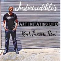 Album Cover- 'Art Imitating Life: Real. Passion. Flow.'