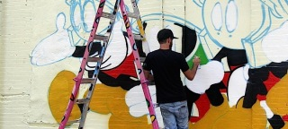 """""""RIBBONS OF JUSTICE"""" A New Mural Curated & Created by Daphne Arthur & Robert Galinsky"""