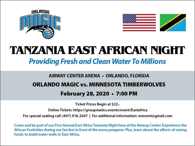 """Orlando Magic host the first annual """"Clean and Fresh Water Project"""""""