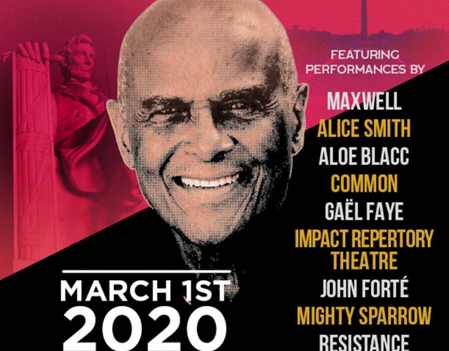HARRY BELAFONTE 93rd BIRTHDAY CELEBRATION at the APOLLO