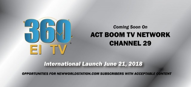 Get Ready - 360EI TV Will Officially Launch on June 21st