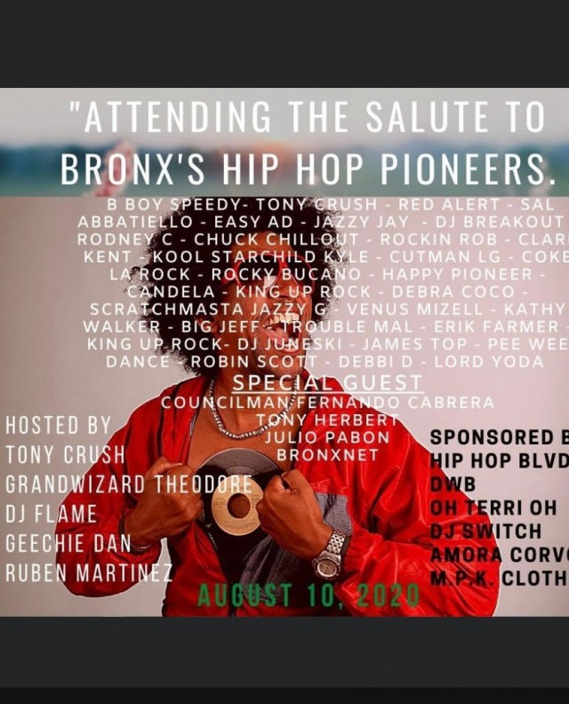 Bronx Hip Hop First Annual Luncheon