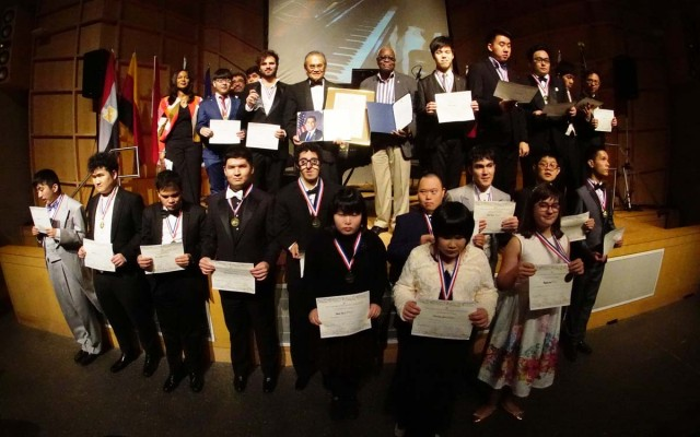 Unheard Notes for Peace, Love and Harmony 4th Annual International Piano Competition for People with Disabilities