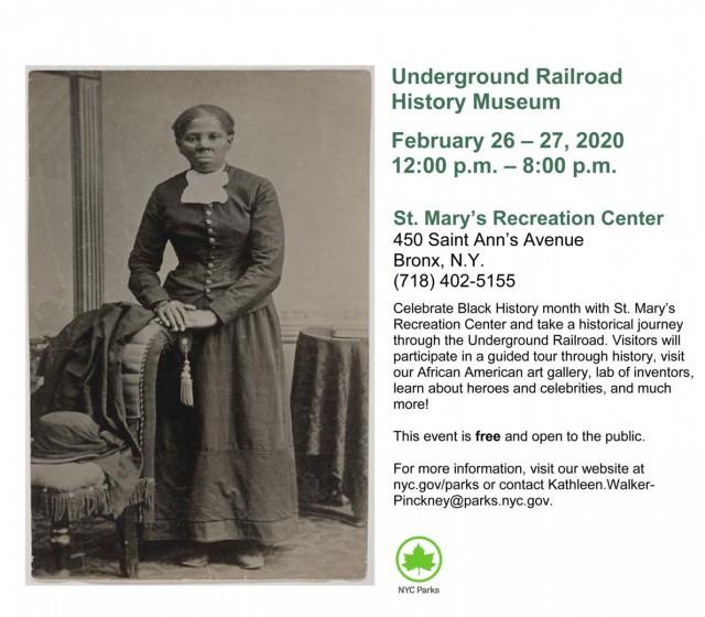 Black History Celebration Tour: the Underground Railroad