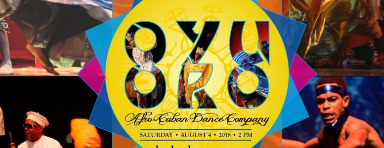 Harlem Havana kicks off Sat. August 4th at St John the Divine with Oyu Oro Afro Cuban dance ensemble, Chino Pons & Grupo Irek